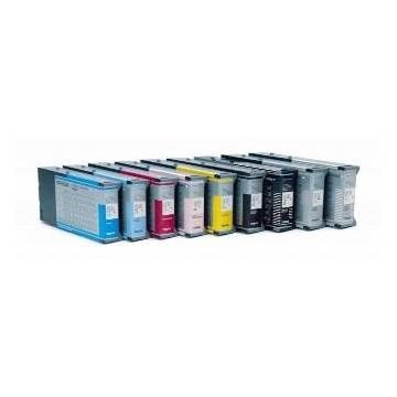 220ml compatible Epson pro 4000 7600 9600 c13t544500 cian claro