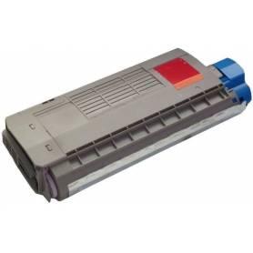 cartucho toner reciclado Oki C710 C710DN C710DTN C711 color magenta