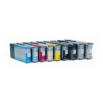 220ml compatible Epson pro 4000 7600 9600 c13t544800 negro mate
