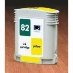 HP 82 compatible Amarillo 69ml para Hp 500 plus cc 800 ps 815mfp