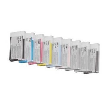 220ml pigmentada compatible Epson pro 4800 4880 c13t606500 cian claro
