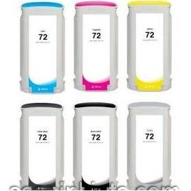 130ml Dye Gris para HP Designjet T1100,T1200,T1300,T230072