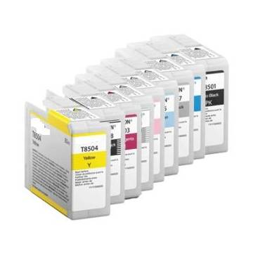 80ml pigmentada compatible Epson sc p800des p800se p800sp claro negro
