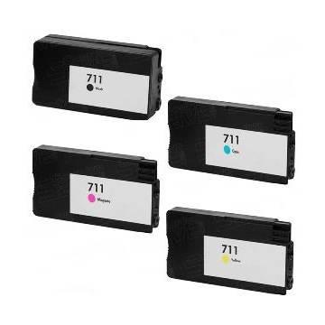 29ml pigmentada compatible cian Hp designjet t520 t120cz130a (h711)
