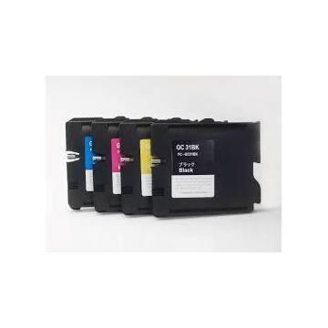 30ml pigmentada compatible para Ricoh gx e2600 e3000n e3300n e3350n amarillo