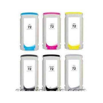 130ml colorante magenta compatible para Hp designjet t1100 t1200 t1300 t230072