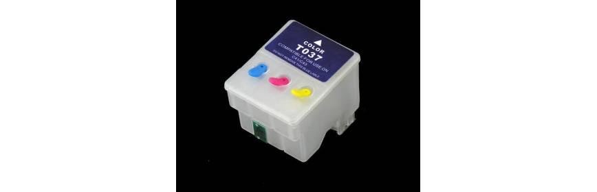 Cartuchos recargables para impresoras de tinta