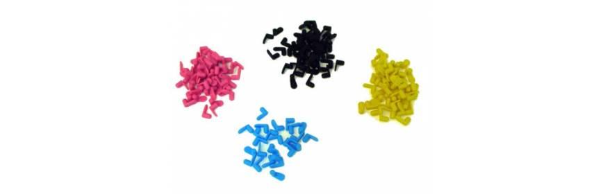 Tapones para cartuchos de tinta