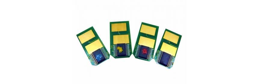 Chips Oki empaquetado industrial