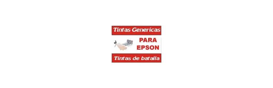 Epson botellas de tinta económica